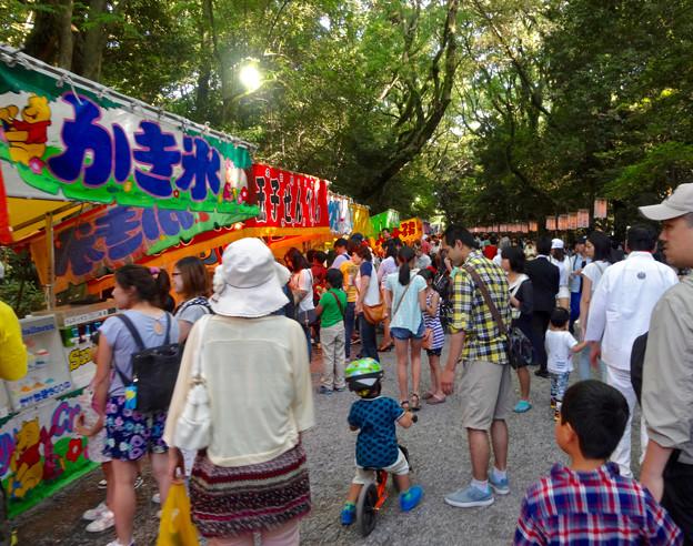 熱田祭り屋台